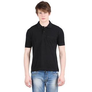 Moonwalker  Black color Polo T-Shirt