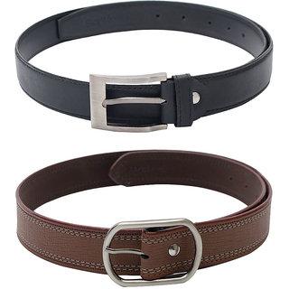 SkyWays Men's Belts Combo (BLM-9-BLM-10-BRN)
