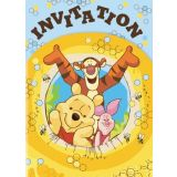 8 Winnie The Pooh Invitations