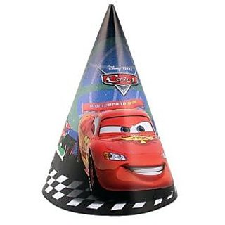 8 Cars 2 Movie Party Hats
