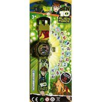 Ben 10 24 Image Military Green Projector Watch With 1 Slap Watch Free