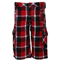 UFO Instyle Boys Red Shorts