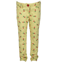 UFO Instyle Girls Yellow Trousers