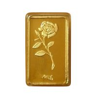 Gold Bar of 1 Gram in 24 Karat 999 Purity by Coin Bazaar