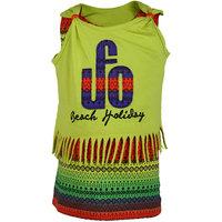 UFO Girls Green T-Shirt
