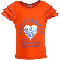 UFO Girls Orange T-Shirt