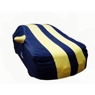 Autosun Carmate Pearl Heavy Duty Material Car Cover Hyundai Elite i20 (Blue & Yellow)