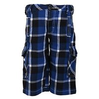 UFO Urbane Boys Navy Blue Shorts