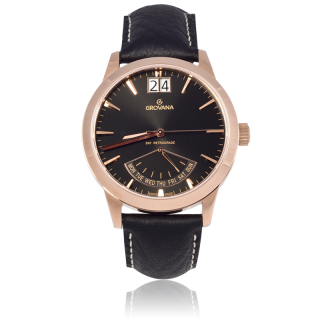 Grovana Men's Retrograde 1722.1567 Men's Watch