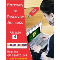 CBSE,ICSE,NCERT Interactive Learning Content Pen Drive For Class 4 By Class Guru