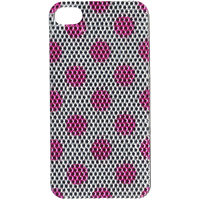Snooky Pink Silver  Back Stickers For Your Iphone4 / 4s Td-6376
