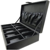 Omax Wrist Watch Organizer Case Kit for - 10 watches capacity