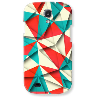 Samsung Galaxy S4 Back Cover Abstract Art By Blueadda