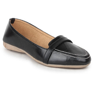 Loafer Womens Black Slip on Loafers