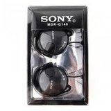 Black Sony MDR-Q140 Headphones with warranty