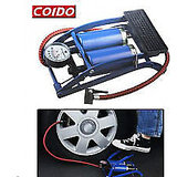 100% Original Coido Foot Air Pump Compressor 8cm Twin Cylinder For Bike Car.