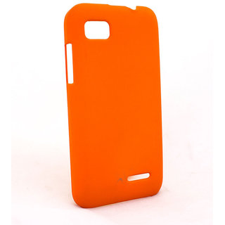 OTD Back Cover Hard for Micromax Bolt A34 Orange available at ShopClues for Rs.249