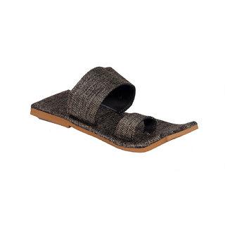 Panahi Mens Square Brown Sandals