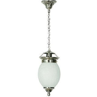 Chandni Crackle Oval Small Hanging Light