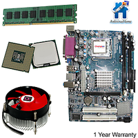 Intel Core 2 Duo 2.4GHZ+ G41 Motherboard+ Ram DDR3 2GB (1year Warranty)