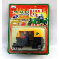CNG Auto Rickshaw Black