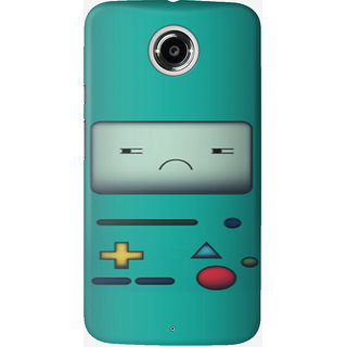 The Fappy Store bmo-mad-case Back Cover for Moto X 2nd Gen