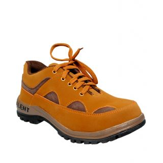 JK Port Mens New Ranger1 Synthetic Leather Safety Shoe available at ShopClues for Rs.915