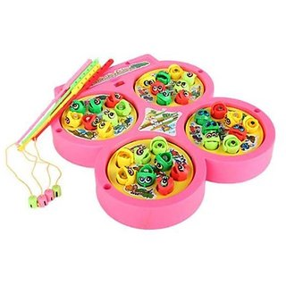 Fishing Catching Game With Music Kids Toy( color may vary)