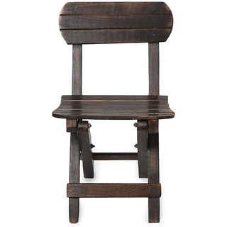 Onlineshoppee Antique Childs Mango Wood Chair Size(LXBXH-10x14x24) inch