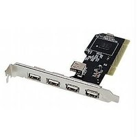 High Speed USB 2.0 PCI Card 4+1 Port (PCI TO USB CARD)