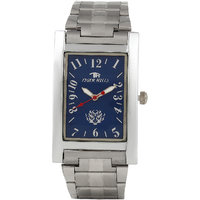 Tigerhills Rectangle Dial Silver Metal Strap Mens Watch