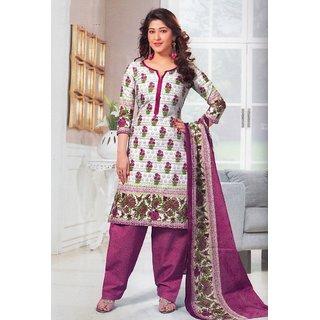 Dress Material Cotton Designer Prints Unstitched Salwar Kameez Suit D.No SG409
