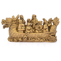 Kriti Feng Shui Dragon Boat With 8 Immortals