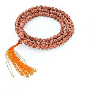 Religiousdeal 7 Mukhi Rudraksha Mala 54 Beads