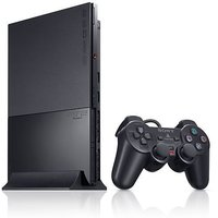 Sony Playstation 2 Ultra Slim PS2 Console (imported) With Free Gifts