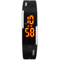Skmei Sports LED Silicon Black colour Watch T_NWA02S000C1