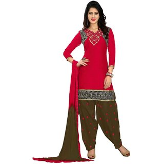 Shopping Queen Exquisite Semi-Stitched Patiyala Suit
