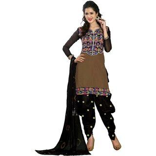 Shopping Queen Designer Semi-Stitched Patiyala Suit