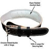 Zenith Leather Weight Lifting Belt 3
