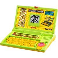 Prasid English Learner Kids Laptop 20 Activities Greenyellow