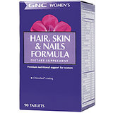 Gnc Womens Hair Skin And Nails Formula 90 Tablets