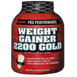 Gnc Weight Gainer 2200 Powder Vanilla 6lb