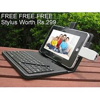 "Mini Usb Keyboard For 7"" Tablets Having Mini Usb Port.Check On Google How Mini Usb Look Like."