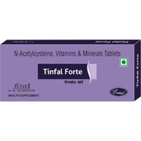 TINFAL FORT - BIOTIN TABLETS FOR HAIR , SKIN N NAIL CARE ( 60 TAB )