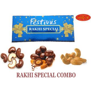 RAKHI SPECIAL CHOCOLET DRYFRUIT COMBO of 2