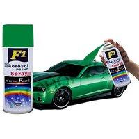 F1 Aerosol Spray Paint Green 450ml - Car/bike Multi Purpose