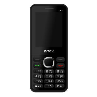 Intex Turbo S1 Dual SIM Mobile Phone - (Black+Red)