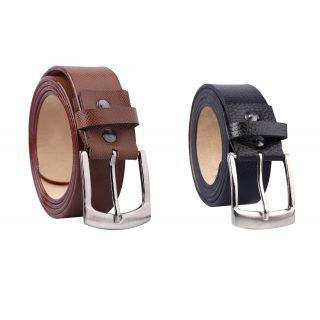 Formal PU Leather Belt In Black  Brown Color Selection