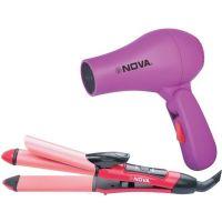 Nova Multistlyer NHS 800 + NHD 2850 Freshers Pack Hair Straightener