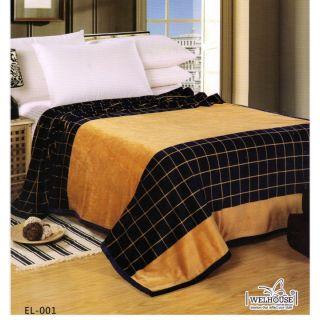 Valtellina Lovely Check Design Double Bed AC Blanket(EL-001)